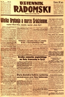 Dziennik Radomski, 1941, R. 2, nr 34