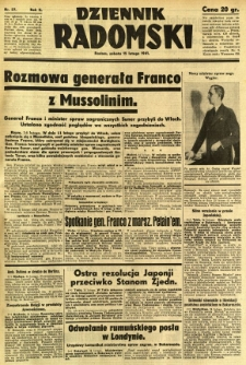 Dziennik Radomski, 1941, R. 2, nr 37