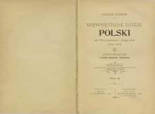 Wewnętrzne dzieje Polski za Stanisława Augusta (1764-1794) : badania historyczne ze stanowiska ekonomicznego i administracyjnego T. 3
