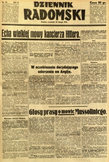 Dziennik Radomski, 1941, R. 2, nr 47