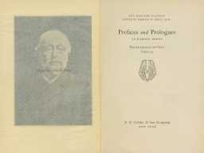 Prefaces and Prologues to Famous Books : with introductions and Notes