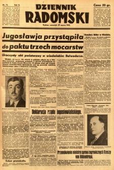 Dziennik Radomski, 1941, R. 2, nr 71