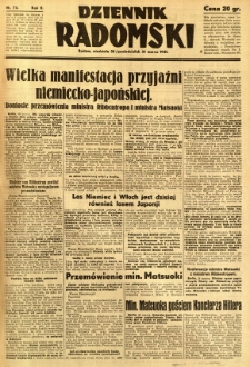 Dziennik Radomski, 1941, R. 2, nr 74