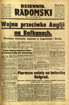 Dziennik Radomski, 1941, R. 2, nr 81