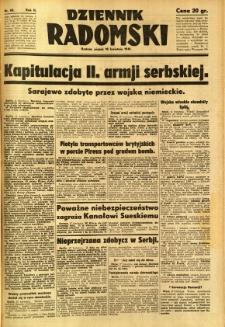 Dziennik Radomski, 1941, R. 2, nr 88