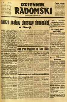 Dziennik Radomski, 1941, R. 2, nr 92