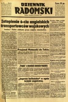 Dziennik Radomski, 1941, R. 2, nr 93