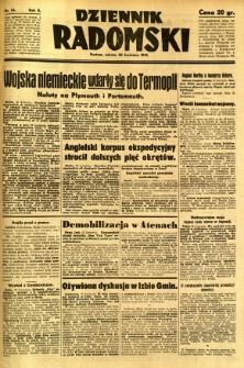 Dziennik Radomski, 1941, R. 2, nr 95