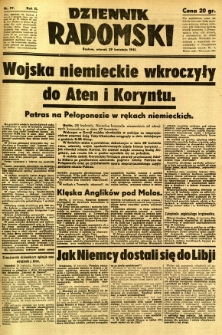 Dziennik Radomski, 1941, R. 2, nr 97
