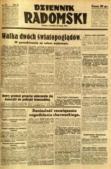 Dziennik Radomski, 1941, R. 2, nr 117