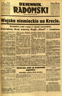 Dziennik Radomski, 1941, R. 2, nr 120