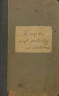 Książka wizyt pasterskich w Bukównie