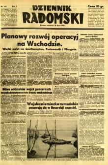 Dziennik Radomski, 1941, R. 2, nr 157
