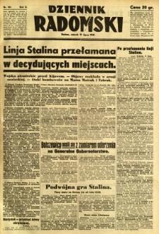 Dziennik Radomski, 1941, R. 2, nr 161