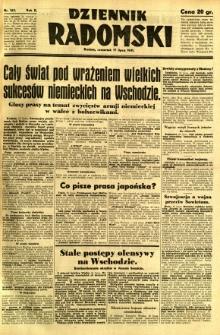 Dziennik Radomski, 1941, R. 2, nr 163