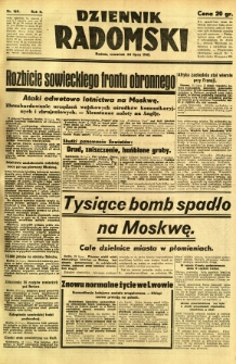 Dziennik Radomski, 1941, R. 2, nr 169