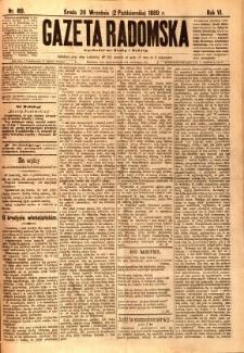 Gazeta Radomska, 1889, R. 6, nr 80