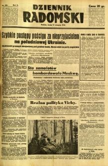Dziennik Radomski, 1941, R. 2, nr 186