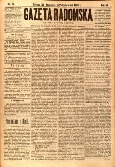 Gazeta Radomska, 1889, R. 6, nr 81