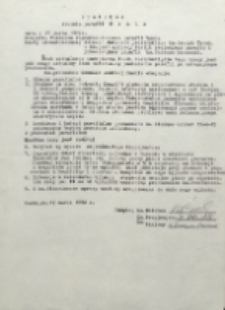 Protokół objęcia parafii Wsola