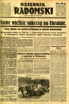 Dziennik Radomski, 1941, R. 2, nr 193