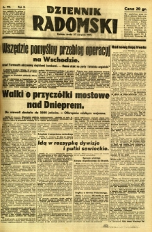 Dziennik Radomski, 1941, R. 2, nr 198