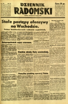Dziennik Radomski, 1941, R. 2, nr 199
