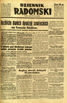 Dziennik Radomski, 1941, R. 2, nr 201
