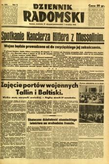 Dziennik Radomski, 1941, R. 2, nr 202