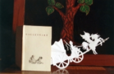 """Wystawa MBP """"Rzeźby z papieru książkami inspirowane"""" 2"""