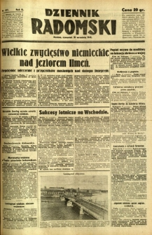 Dziennik Radomski, 1941, R. 2, nr 217