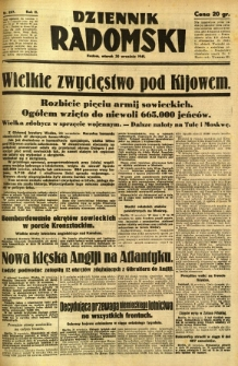 Dziennik Radomski, 1941, R. 2, nr 227