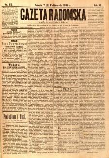 Gazeta Radomska, 1889, R. 6, nr 85