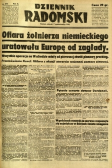 Dziennik Radomski, 1941, R. 2, nr 233