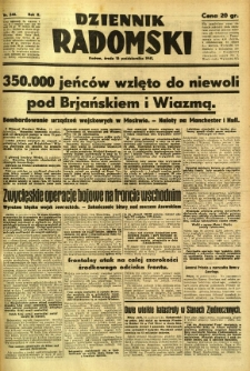 Dziennik Radomski, 1941, R. 2, nr 240
