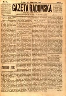 Gazeta Radomska, 1889, R. 6, nr 86