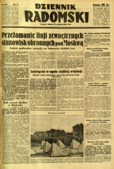 Dziennik Radomski, 1941, R. 2, nr 249