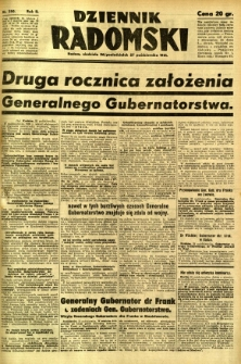 Dziennik Radomski, 1941, R. 2, nr 250