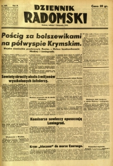 Dziennik Radomski, 1941, R. 2, nr 255