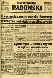 Dziennik Radomski, 1941, R. 2, nr 257