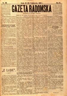 Gazeta Radomska, 1889, R. 6, nr 88