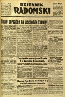 Dziennik Radomski, 1941, R. 2, nr 271