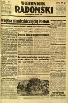 Dziennik Radomski, 1941, R. 2, nr 275