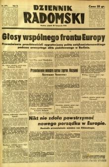 Dziennik Radomski, 1941, R. 2, nr 278