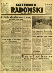 Dziennik Radomski, 1941, R. 2, nr 283