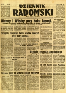 Dziennik Radomski, 1941, R. 2, nr 290