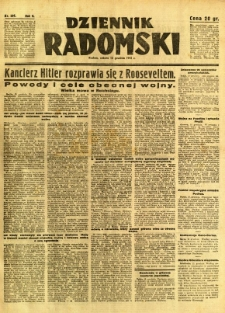 Dziennik Radomski, 1941, R. 2, nr 291