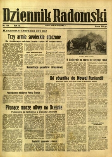 Dziennik Radomski, 1942, R. 3, nr 120