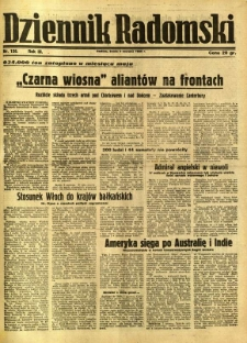 Dziennik Radomski, 1942, R. 3, nr 126