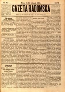 Gazeta Radomska, 1889, R. 6, nr 95